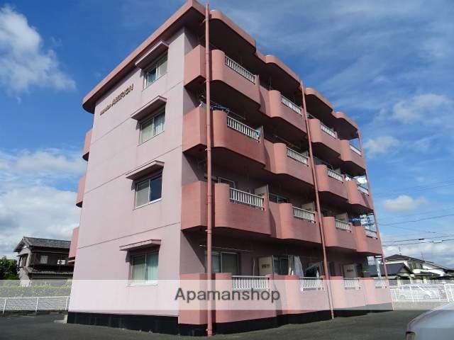 静岡県浜松市浜北区、浜北駅徒歩25分の築22年 4階建の賃貸マンション