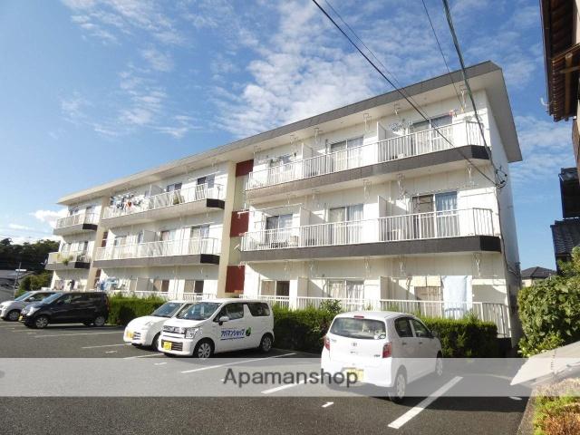 静岡県浜松市東区、浜松駅バス42分さぎの宮北下車後徒歩3分の築33年 3階建の賃貸アパート