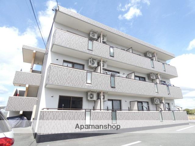 静岡県浜松市東区、浜松駅バス32分浜松東高下車後徒歩9分の築8年 3階建の賃貸マンション