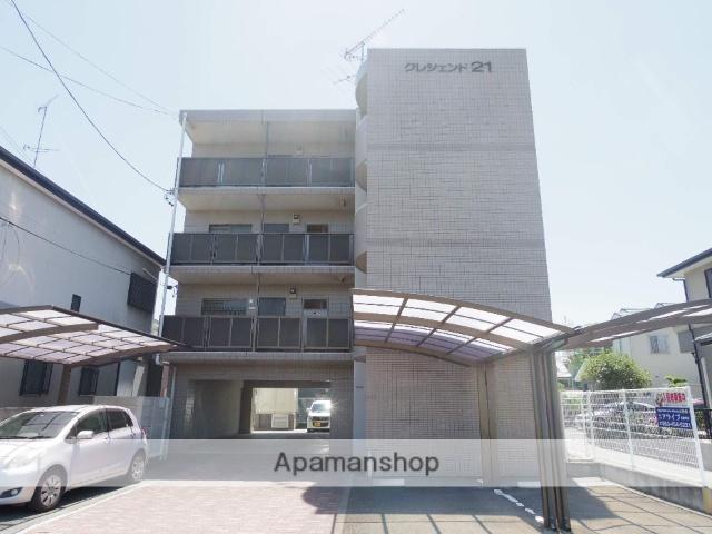 静岡県浜松市中区、浜松駅徒歩4分の築19年 4階建の賃貸マンション