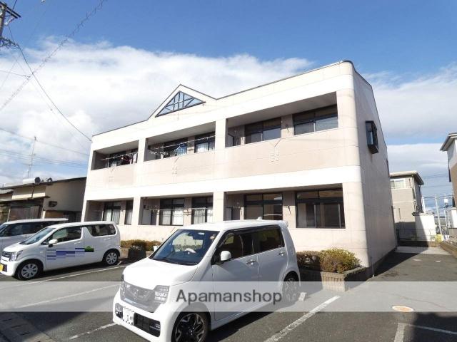 静岡県浜松市東区、浜松駅遠鉄バスバス17分上西町下車後徒歩1分の築17年 2階建の賃貸アパート