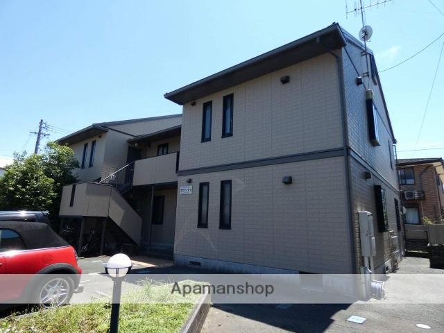 静岡県浜松市中区、浜松駅バス15分茄子橋下車後徒歩2分の築17年 2階建の賃貸アパート