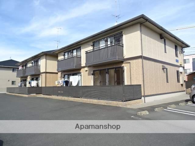 静岡県浜松市浜北区、遠州小松駅徒歩22分の築10年 2階建の賃貸アパート