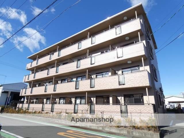 静岡県浜松市南区、浜松駅遠鉄バスバス20分三和西下車後徒歩2分の築10年 4階建の賃貸マンション