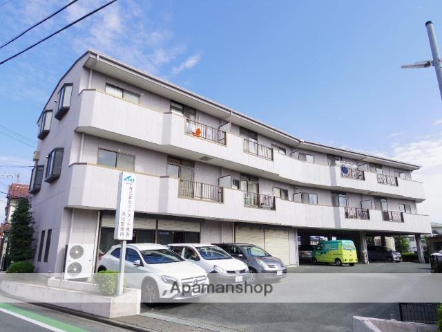 静岡県浜松市中区、浜松駅バス17分下屋敷下車後徒歩10分の築23年 3階建の賃貸マンション
