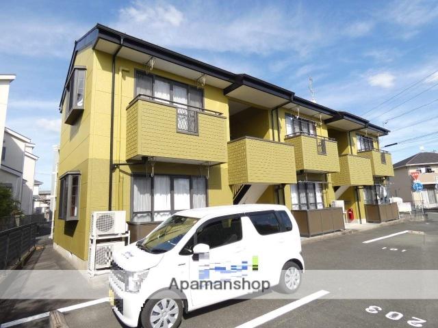 静岡県浜松市浜北区、遠州小松駅徒歩22分の築11年 2階建の賃貸アパート