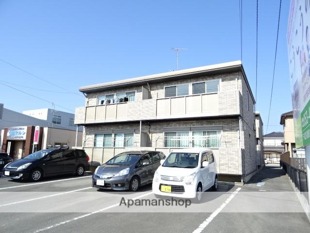 静岡県浜松市西区、浜松駅遠鉄バスバス35分志都呂下車後徒歩5分の築13年 2階建の賃貸アパート