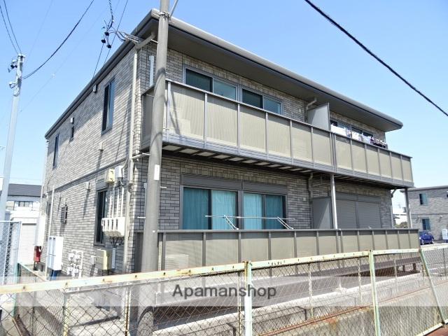 静岡県浜松市西区、浜松駅遠鉄バスバス32分馬郡中下車後徒歩3分の築8年 2階建の賃貸アパート