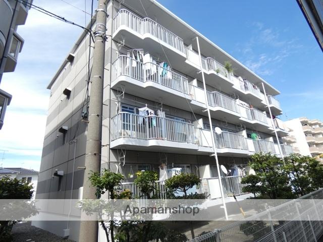 静岡県浜松市東区、天竜川駅徒歩29分の築22年 4階建の賃貸マンション