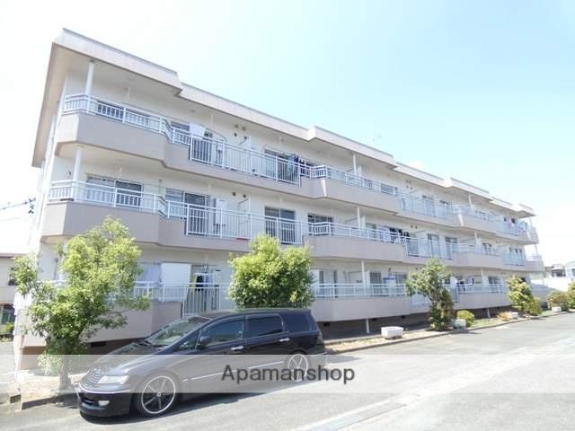 静岡県浜松市東区、天竜川駅徒歩29分の築32年 3階建の賃貸マンション