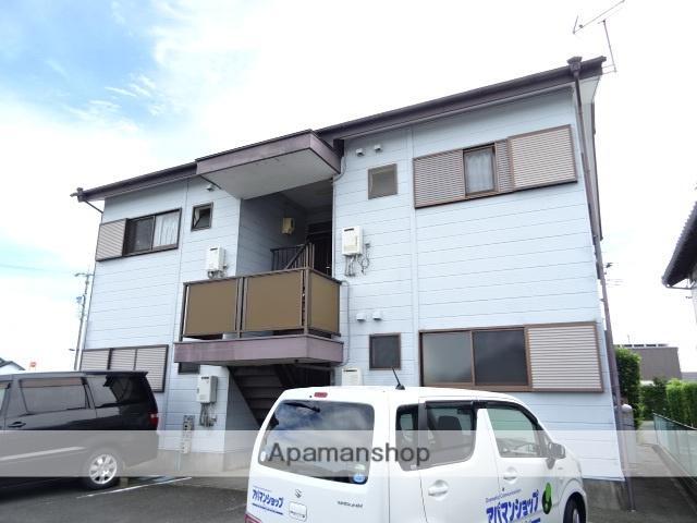 静岡県浜松市南区、浜松駅遠州バスバス18分米津東下車後徒歩2分の築24年 2階建の賃貸アパート