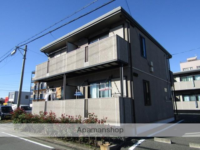 静岡県浜松市中区、浜松駅遠鉄バスバス10分森田下車後徒歩5分の築13年 2階建の賃貸アパート