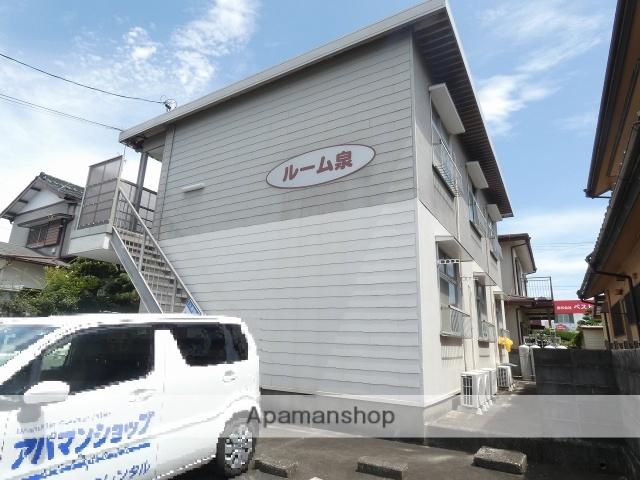 静岡県浜松市中区、浜松駅遠州鉄道バスバス35分泉町南下車後徒歩4分の築35年 2階建の賃貸アパート