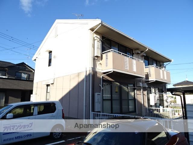 静岡県浜松市東区、天竜川駅徒歩10分の築29年 2階建の賃貸アパート
