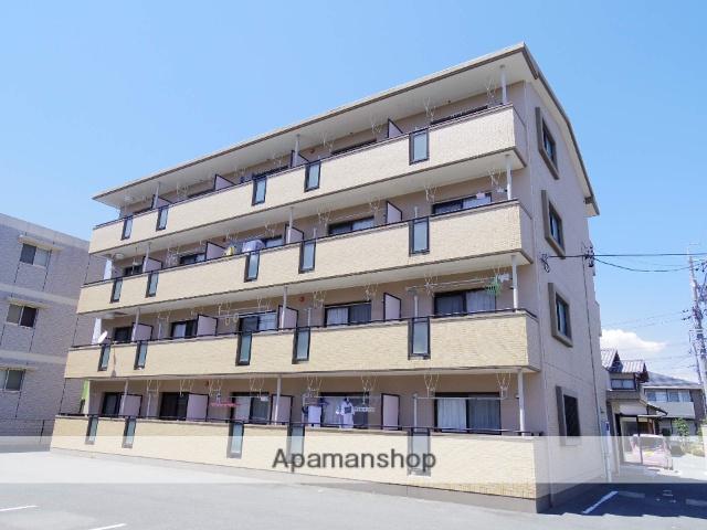 静岡県浜松市中区、浜松駅遠鉄バスバス30分グリーンタウン入口下車後徒歩1分の築10年 4階建の賃貸マンション
