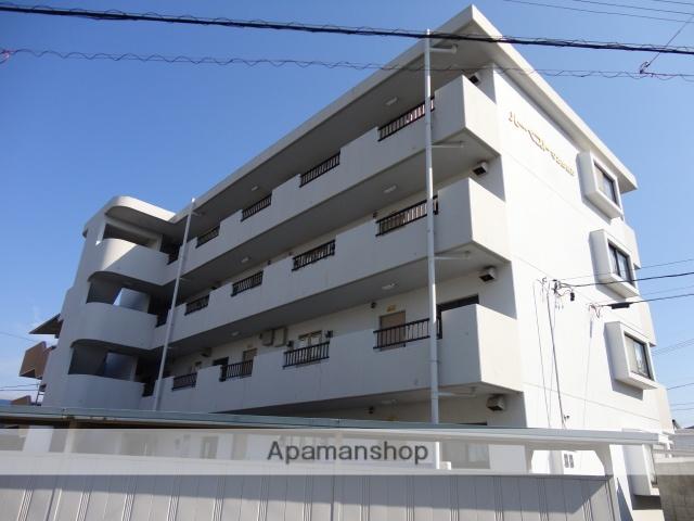 静岡県浜松市東区、天竜川駅徒歩15分の築25年 4階建の賃貸マンション