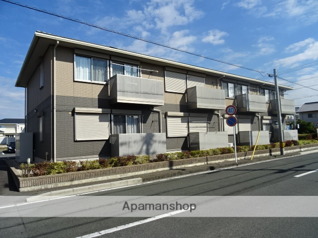 静岡県浜松市東区、浜松駅バス30分有玉中下車後徒歩5分の築6年 2階建の賃貸アパート