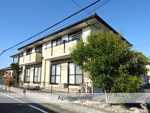静岡県浜松市浜北区、遠州小松駅徒歩13分の築23年 2階建の賃貸アパート