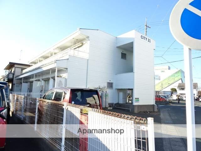 静岡県浜松市東区、天竜川駅徒歩27分の築30年 2階建の賃貸アパート