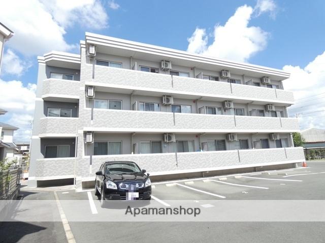 静岡県浜松市浜北区、浜北駅徒歩9分の築3年 3階建の賃貸マンション