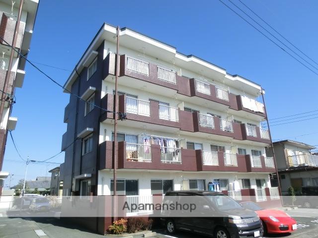 静岡県浜松市東区、天竜川駅徒歩29分の築27年 4階建の賃貸マンション