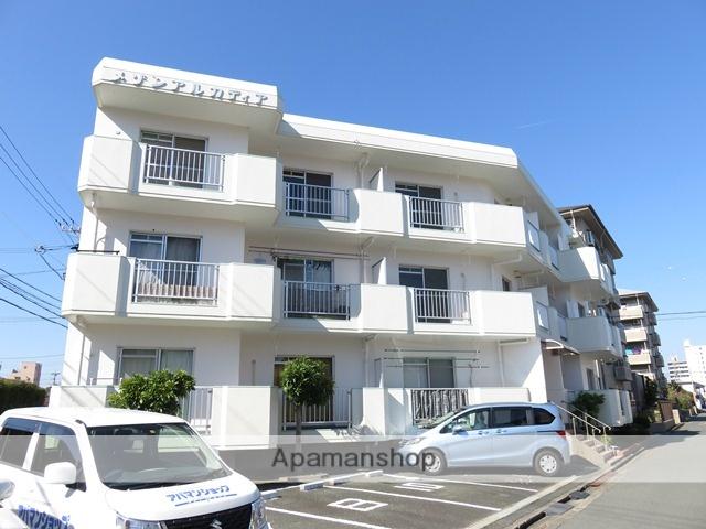 静岡県浜松市中区、浜松駅徒歩14分の築28年 3階建の賃貸マンション