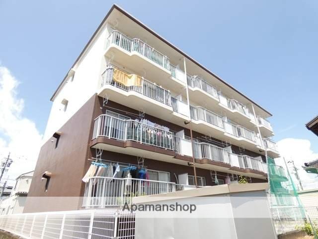 静岡県浜松市東区、天竜川駅徒歩25分の築25年 4階建の賃貸マンション