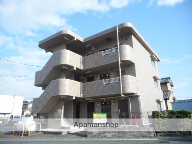 静岡県浜松市東区、浜松駅遠鉄バスバス35分市野上下車後徒歩3分の築19年 3階建の賃貸マンション
