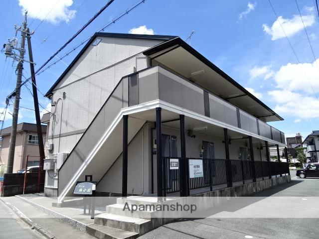 静岡県浜松市東区、浜松駅バス30分有玉南下車後徒歩5分の築17年 2階建の賃貸アパート