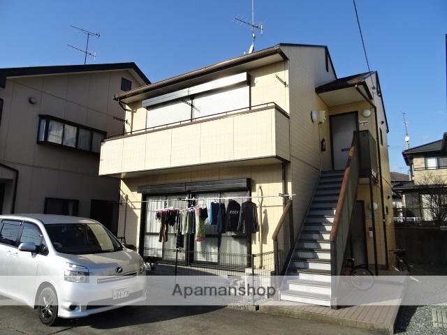 静岡県浜松市北区、浜松駅遠鉄バスバス35分前原下車後徒歩18分の築21年 2階建の賃貸アパート
