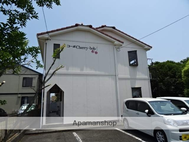 静岡県浜松市中区、浜松駅遠鉄バスバス22分萩丘下車後徒歩5分の築29年 2階建の賃貸アパート
