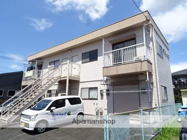 静岡県浜松市浜北区、遠州小松駅徒歩13分の築28年 2階建の賃貸アパート