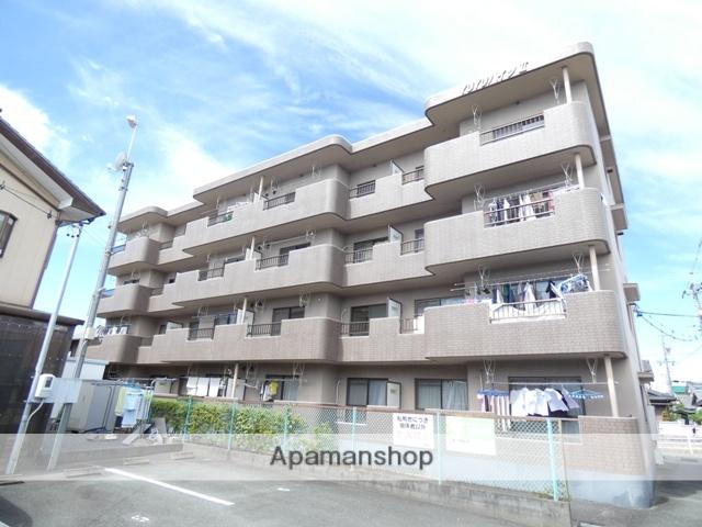 静岡県浜松市浜北区、遠州西ヶ崎駅徒歩14分の築23年 4階建の賃貸マンション