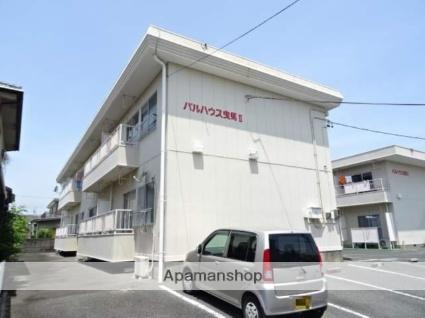 静岡県浜松市中区、浜松駅バス16分曳馬橋下車後徒歩10分の築30年 2階建の賃貸アパート