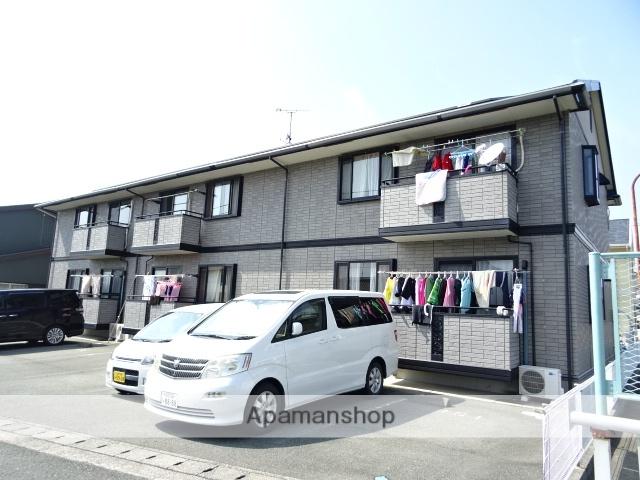 静岡県浜松市西区、浜松駅遠鉄バスバス38分新町西下車後徒歩3分の築16年 2階建の賃貸アパート