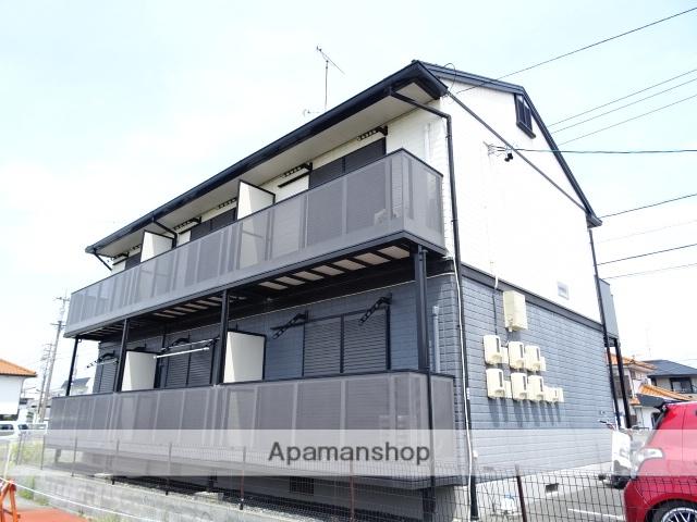 静岡県浜松市南区、浜松駅遠鉄バスバス20分高塚東下車後徒歩5分の築18年 2階建の賃貸アパート