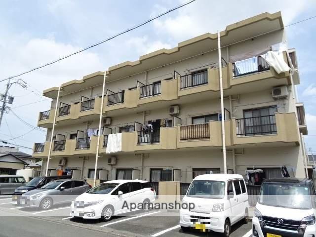 静岡県浜松市東区、浜松駅バス20分サーラ下車後徒歩3分の築28年 3階建の賃貸マンション