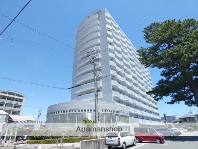 静岡県浜松市中区、浜松駅徒歩13分の築26年 14階建の賃貸マンション