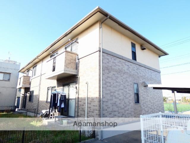 静岡県浜松市西区、浜松駅遠鉄バスバス40分馬郡東下車後徒歩5分の築15年 2階建の賃貸アパート