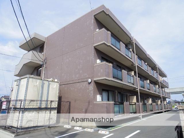 静岡県浜松市中区、曳馬駅徒歩16分の築23年 3階建の賃貸マンション