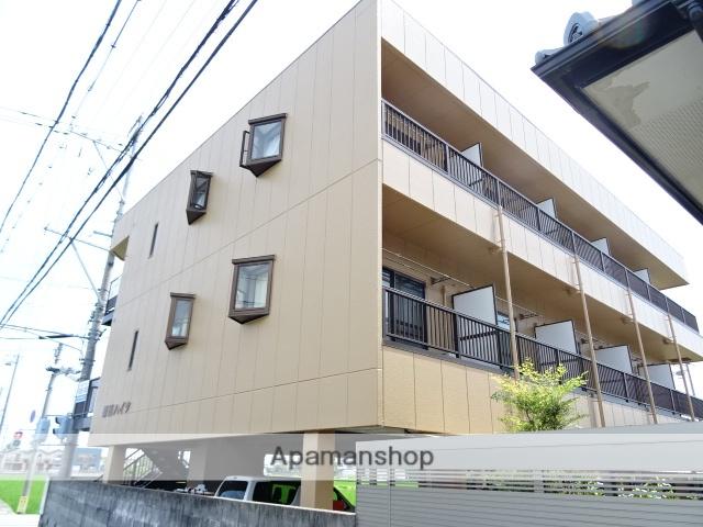 静岡県浜松市東区、浜松駅バス35分半田川原下車後徒歩2分の築24年 3階建の賃貸アパート