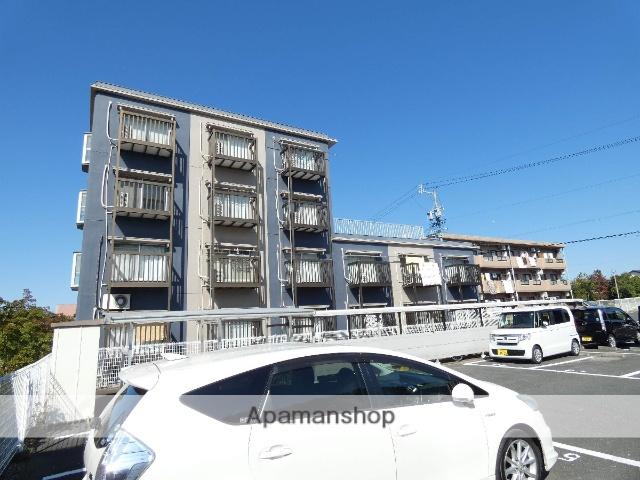 静岡県浜松市北区、浜松駅遠鉄バスバス45分三方原墓園下車後徒歩7分の築22年 4階建の賃貸マンション