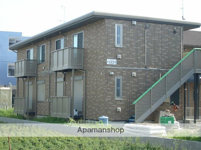 静岡県浜松市浜北区、浜北駅徒歩12分の築8年 2階建の賃貸アパート