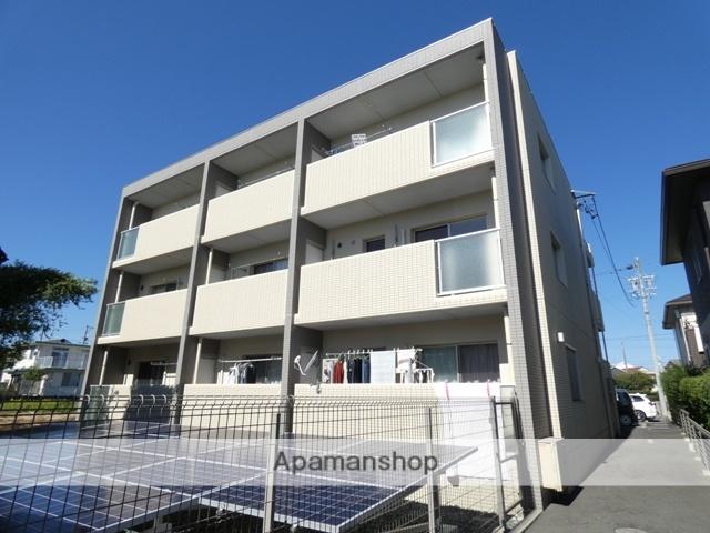 静岡県浜松市浜北区、遠州小松駅徒歩22分の築1年 3階建の賃貸マンション