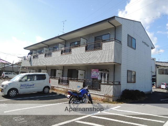 静岡県浜松市中区、浜松駅遠鉄バスバス15分ごんげんや下車後徒歩2分の築19年 2階建の賃貸アパート