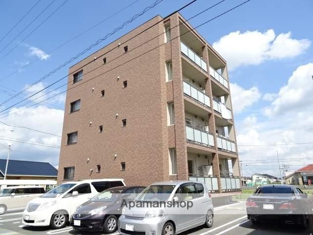 静岡県浜松市浜北区、遠州小林駅徒歩28分の築4年 4階建の賃貸マンション
