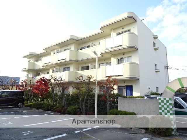 静岡県浜松市浜北区、浜北駅徒歩14分の築28年 3階建の賃貸マンション