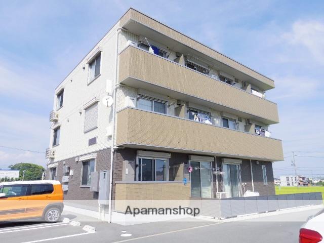 静岡県浜松市東区、浜松駅バス35分半田町下車後徒歩3分の築1年 3階建の賃貸アパート