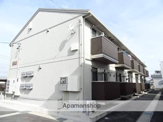 静岡県浜松市北区、浜松駅バス30分三方原南下車後徒歩3分の築1年 2階建の賃貸アパート