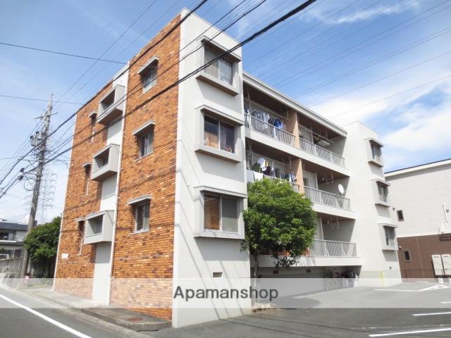 静岡県浜松市中区、浜松駅バス25分上島西下車後徒歩3分の築34年 3階建の賃貸マンション